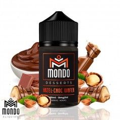 Hazel-Choc Wafer 50ml - Mondo E-liquids