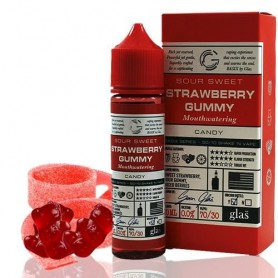 Candy Sweet Sour Strawberry Gummy 50ml - Glas Basix Series