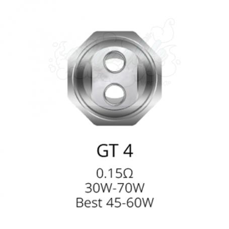 Coil GT4Core para NRG Vaporesso