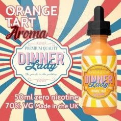 Orange Tart Dinner Lady Aroma