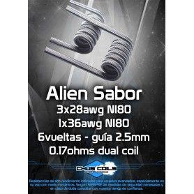 Alien Sabor 0.17 Ohm - Chus Coils