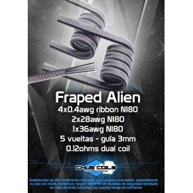 Fraped Alien 0.12 Ohm - Chus Coils