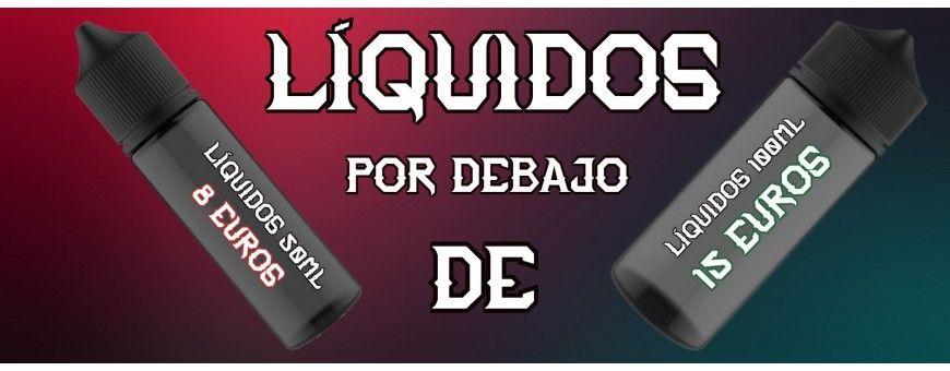 E-LIQUID 100ML - DE 15€